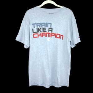 Champion Shirts - Train like a Champion Shirt Sports Athletic Medium